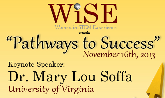 WiSE 2013 event flyer